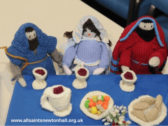 Knitted Bible Exhibition